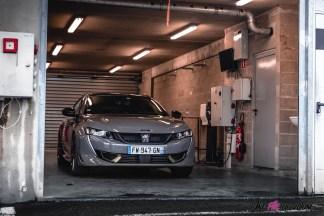 Photo face avant statique Peugeot 508 PSE 2021