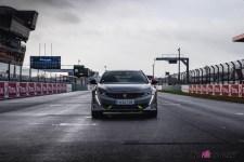 Photo siganture lumineuse Peugeot 508 PSE 2021