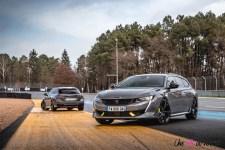 Photo avant et arrière Peugeot 508 Peugeot Sport Engineered SW 2021