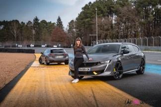 Photo Peugeot 508 PSE 2021 Marie Lizak