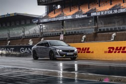 Photo dynamique Peugeot 508 PSE berline 2021