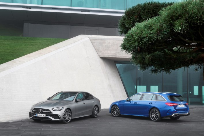 Photo Mercedes Classe C berline et break 2021