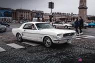 Photo Traversée de Paris hivernale 2021 Ford Mustang