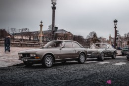 Photo Traversée de Paris hivernale 2021 Peugeot 504