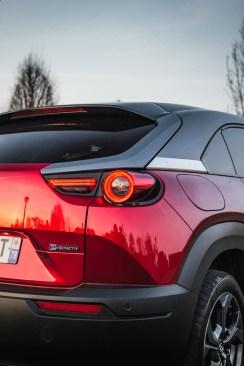 Photo feux arrière Mazda MX-30 2021