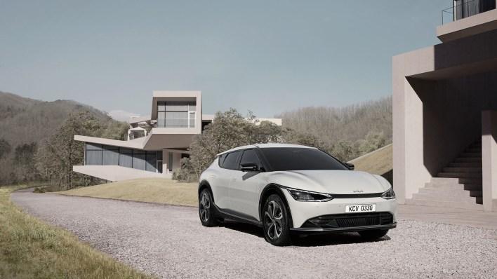 Photo Kia EV6 électrique 2021
