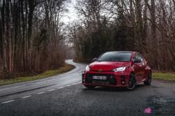 Photo Toyota GR Yaris Rouge Intense 2021