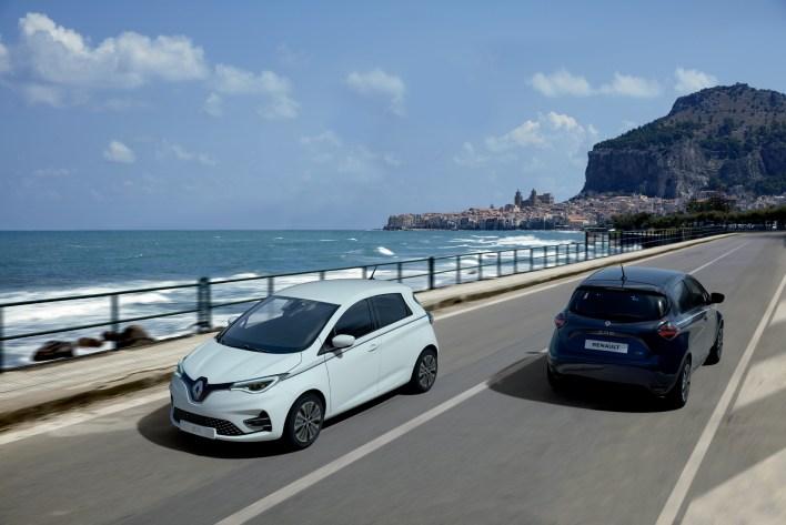 Photo Renault Zoé