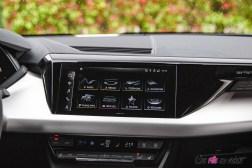 Photo écran tactile Audi e-tron GT Quattro 2021