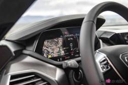Photo combiné numérique Audi RS e-tron GT 2021