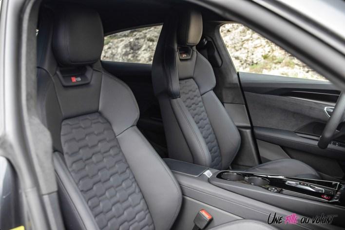 Photo sièges sport Audi RS e-tron GT 2021