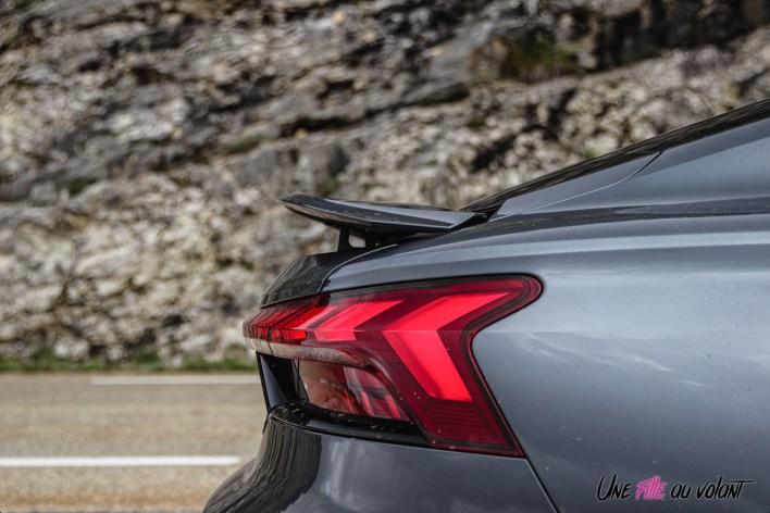 Photo aileron et feux Audi RS e-tron GT 2021