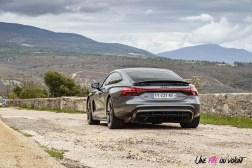 Photo essai Audi RS e-tron GT électrique 2021