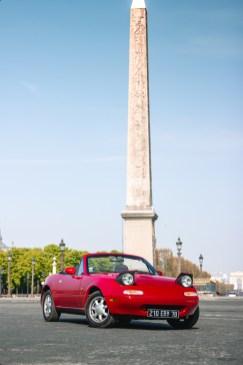 Photo Mazda MX-5 NA face avant statique