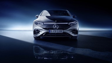 Photo face avant Mercedes EQS 2021