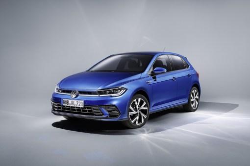Photo avant Volkswagen Polo restylee 2021
