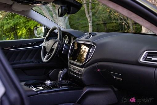 Photo intérieur Maserati Ghibli hybride 2021
