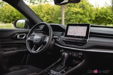 Photo intérieur Jeep Compass 4xe hybride rechargeable