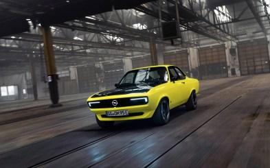 Photo Opel Manta GSe ElektroMOD dynamique 2021
