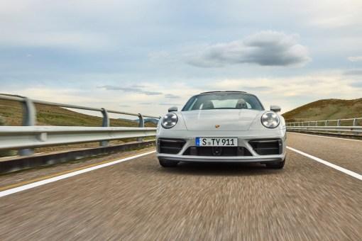 Photo avant Porsche 911 GTS 2021