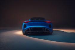 Photo arrière Lotus Emira 2021