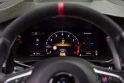 Photo combiné numérique Renault Mégane RS Trophy EDC