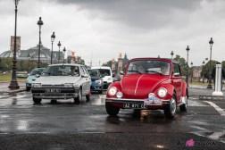 Photo Volkswagen Coccinelle traversee de paris estivale 2021