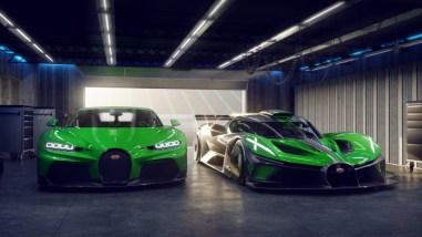 Photo nouvelle Bugatti Bolide 2021