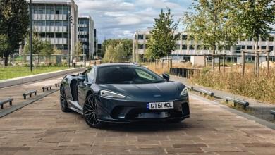 Photo McLaren GT gris Saros 2021