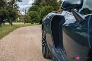 Photo prise d'air McLaren GT 2021