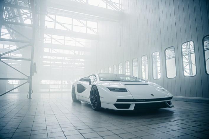 Photo nouvelle Lamborghini Countach 2021