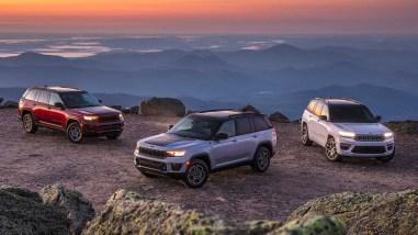 Photo gamme Jeep Grand Cherokee 2021