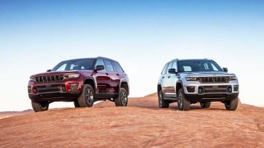 Photo nouveau Jeep Grand Cherokee 2021