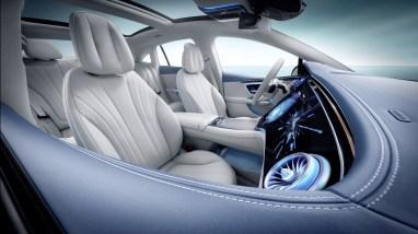 Photo intérieur nouvelle Mercedes EQE 2021