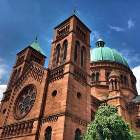 Eglise Saint Pierre le Jeune à Strasbourg