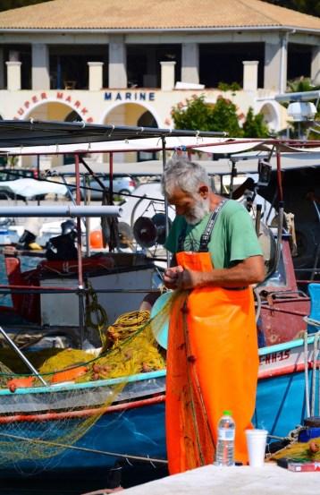 Pêcheur à Sivota - Grèce