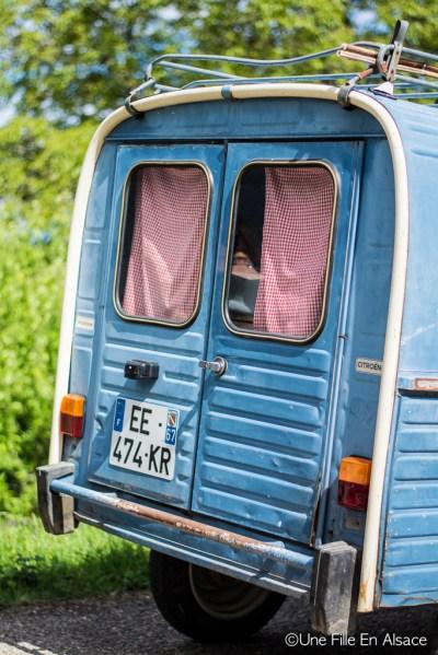 Acadiane Auto Rétro Vino Photo Céline Schnell - Une Fille En Alsace