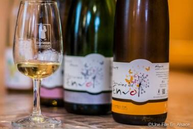 Les Vins du Domaine de l'Envol à Ingersheim - Photo Céline Schnell - Une Fille En Alsace