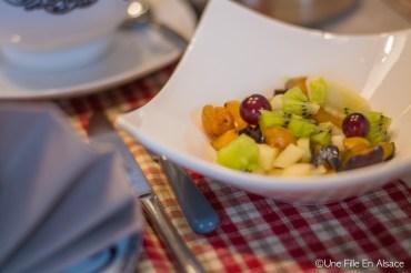 Petit déjeuner des Chambres d'hôtes Les Ecrins à Orbey - Photo Céline Schnell - Une Fille En Alsace
