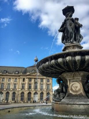 Fontaine Place de La Bourse Bordeaux