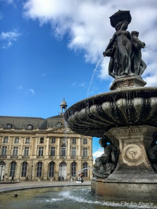 Fontaine Place de La Bourse Bordeaux