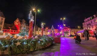 Patinoire au village de Noël Saverne - Photos Céline Schnell Une Fille En Alsace