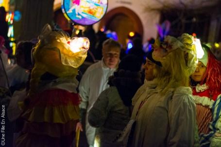 Carnaval de Bâle en Suisse - Photo Céline Schnell Une Fille En Alsace