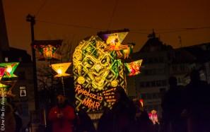 Morgenstreich 2018 à Bâle en Suisse - Photo Céline Schnell Une Fille En Alsace