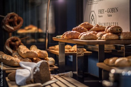 Petit déjeuner Hôtel Hannong Strasbourg - Crédit photo Céline Schnell Une Fille En Alsace