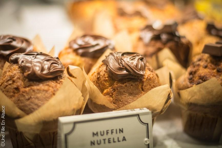 Restaurant Factory & Co à Strasbourg - Muffin Nutella - Photo Céline Schnell Une Fille En Alsace