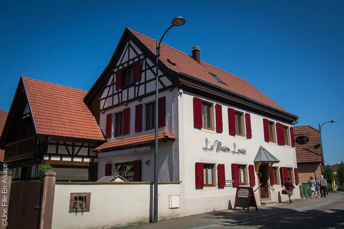 Restaurant La Maison Louise à Meistratzheim - Crédit Photo Céline Schnell Une Fille En Alsace