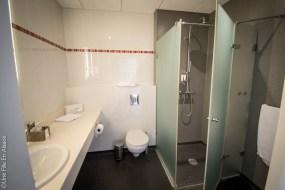 Salle de bain Hôtel Val Vignes à Saint-Hippolyte - Photo Céline Schnell Une Fille En Alsace