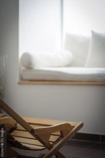 Espace bien-être à l'Hôtel Val Vignes à Saint-Hippolyte - Photo Céline Schnell Une Fille En Alsace