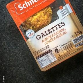 Galettes de pomme de terre Traiteur Schneider aux champignons - Photo Céline Schnell Une Fille En Alsace